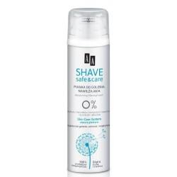 AA*SHAVE SAFE&CARE Pianka do golenia 250 ml