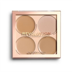 Makeup Revolution Paleta korektorów Matte Base Concealer Kit C5-C8
