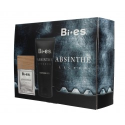 Bi-es Absinthe Legend for Man Komplet (woda toaletowa 100ml+żel pod prysznic 150ml)
