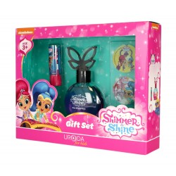 Uroda for Kids Zestaw prezentowy Shimmer & Shine (woda perfum.50ml+pomadka ochronna)