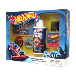Uroda for Kids Zestaw prezentowy Hot Wheels (żel pod prysznic 2w1 150ml+woda toalet.50ml)