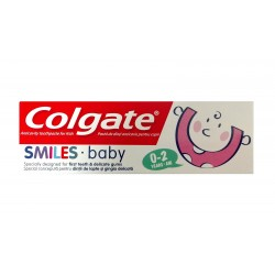 Colgate Pasta do zębów dla dzieci Smiles Baby (0-2 lat)  50ml