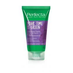 Perfecta Your Time Is Green Glinkowa pasta do mycia twarzy przeciw niedoskonałościom  50ml