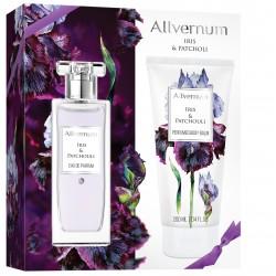 Allvernum Zestaw prezentowy Iris & Patchouli (woda perf.50ml+balsam d/ciała 200ml)