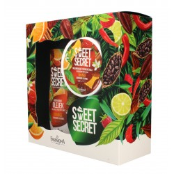 Farmona Zestaw prezentowy Sweet Secret Orange (olejek do kąpieli 300ml+krem do ciała 200ml)