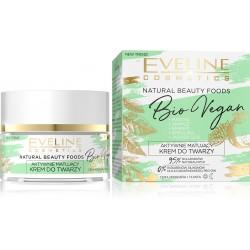 Eveline Natural Beauty Foods Aktywnie Matujący Krem na dzień i noc Bio Vegan  50ml
