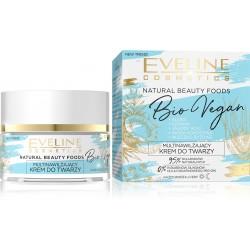 Eveline Natural Beauty Foods Aktywnie Multinawilżający Krem na dzień i noc Bio Vegan  50ml