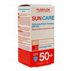 Floslek Sun Care Krem ochronny tonujący SPF 50+ - cera sucha i wrażliwa  50ml