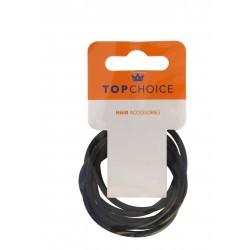 Top Choice Gumki do włosów silikonowe (22784)  1 op.-6szt