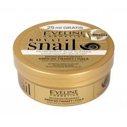 Eveline Royal Snail Skoncentrowany Krem do twarzy i ciała  200ml