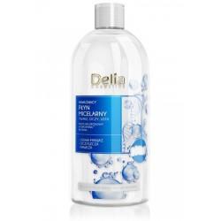 Delia Cosmetics Płyn Micelarny nawilżający - każdy rodzaj cery  500ml