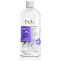 Delia Cosmetics Płyn Micelarny odświeżający - każdy rodzaj cery  500ml
