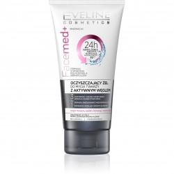 Eveline Facemed+ Oczyszczający Żel do twarzy z aktywnym węglem  150ml
