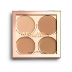 Makeup Revolution Paleta korektorów Matte Base Concealer Kit C9-12