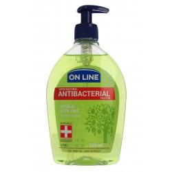 On Line Mydło w dozowniku Antybakteryjne Lime  500ml