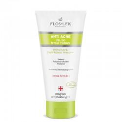 Floslek Anti Acne Program Antybakteryjny Żel do mycia twarzy
