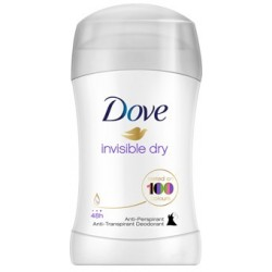 Dove Antyperspiranty Invisible Dry antyperspirant