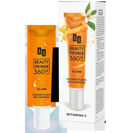 AA Beauty Primer 360 Baza pod makijaż Glow Witamina C  30ml