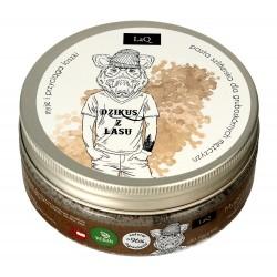 """LaQ Body Scrub&Wash Peeling myjący do ciała dla facetów """"Dzikus z lasu"""" 200ml"""