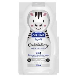 FS*On LINE KIDS Żel 3 w1 d/mycia Czekoladowy