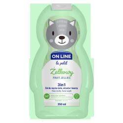FS*On LINE KIDS Żel 3 w1 d/mycia Żelkowy