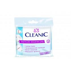 Cleanic Patyczki higieniczne Folia 1op.-100 szt