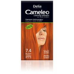 Delia Cosmetics Cameleo Szampon koloryzujący 7.4 Rudy  1szt
