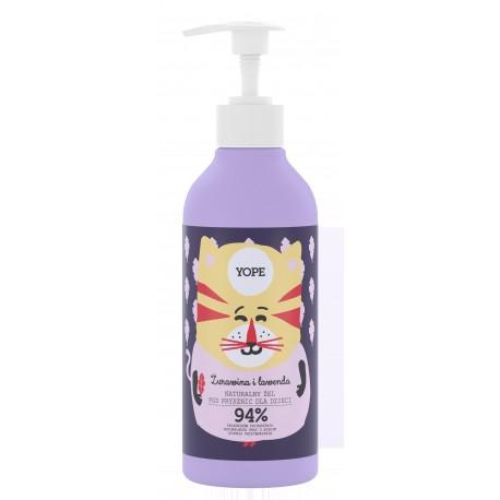 YOPE*Żel p/prysznic dla dzieci Żurawina i Law NEW