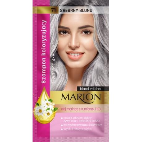 MARION*Szampon kolor.4-8 myć 71 Srebrny blond