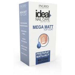 Ingrid Ideal Nail Care Preparat matujący do paznokci  Mega Matt  7ml