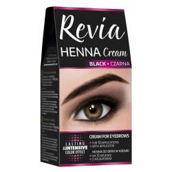 Verona Revia Henna do brwi w kremie Czarna  15ml
