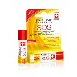 Eveline Pomadka - balsam ochronny do ust SOS  classic  1szt