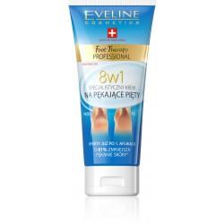 Eveline Foot Therapy Professional Krem na pękające pięty 8w1  100ml