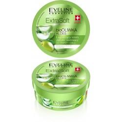 Eveline Extra Soft  bio Oliwka i Aloes Łagodzący krem głęboko nawilżający do twarzy i ciała  175ml
