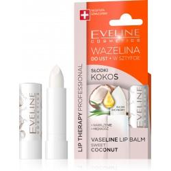 Eveline Lip Therapy Wazelina do ust w sztyfcie nawilżająca Słodki Kokos  1szt