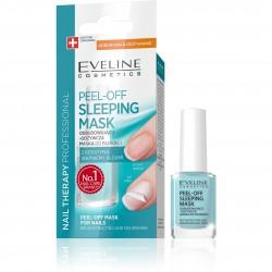 Eveline Nail Therapy Maska do paznokci Peel-Off Sleeping odbudowująco-odżywcza  12ml