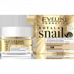 Eveline Royal Snail 60+ Skoncentrowany Krem ultranaprawczy na dzień i noc  50ml