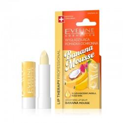 Eveline Lip Therapy Professional Pomadka wygładzająca do ust Banana Mousse  1szt