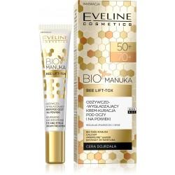 Eveline Bio Manuka 50+/70+ Krem-kuracja odżywczo wygładzający pod oczy i na powieki 20ml