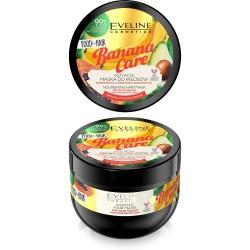 Eveline Food for Hair Banana Care Maska do włosów farbowanych - ochrona koloru i odżywienie  500ml