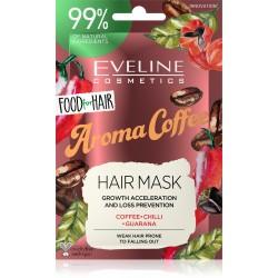 Eveline Food for Hair Aroma Coffee Maska do włosów słabych i łamliwych  - regeneracja i wzmocnienie  20ml