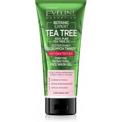 Eveline Botanic Expert Tea Tree Żel do mycia twarzy antybakteryjny oczyszczający 175ml