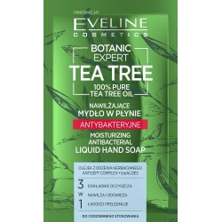 Eveline Botanic Expert Tea Tree Nawilżające Mydło w płynie antybakteryjne 75ml-saszetka