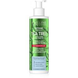 Eveline Botanic Expert Tea Tree Nawilżające Mydło w płynie antybakteryjne 200ml - pompka