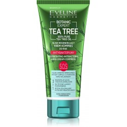 Eveline Botanic Expert Tea Tree Krem-kompres do rąk antybakteryjny silnie regenerujący S.O.S. 100ml