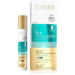 Eveline Bio Hyaluron Expert Hialuronowy Roll-on modelujący kontur oczu na dzień i noc 15ml