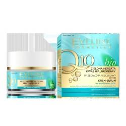 Eveline Bio Q10 Przeciwzmarszczkowy Lekki Krem-serum na dzień i noc 50ml