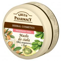 Green Pharmacy Masło do ciała Olej arganowy, Figi  200ml