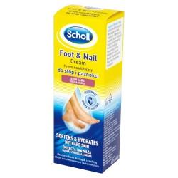 Scholl Pielęgnacja stóp Krem nawilżający do stóp i paznokci  60ml