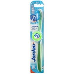 Jordan Szczoteczka do zębów Target Teeth & Gums soft  mix kolorów 1szt